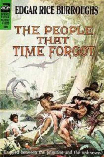 Ace Books - The People That Time Forgot - Edgar Rice Burroughs