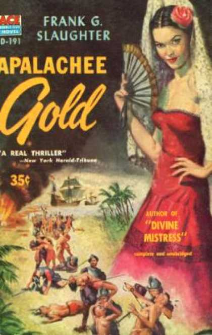 Ace Books - Apalache Gold - Frank G. Slaughter