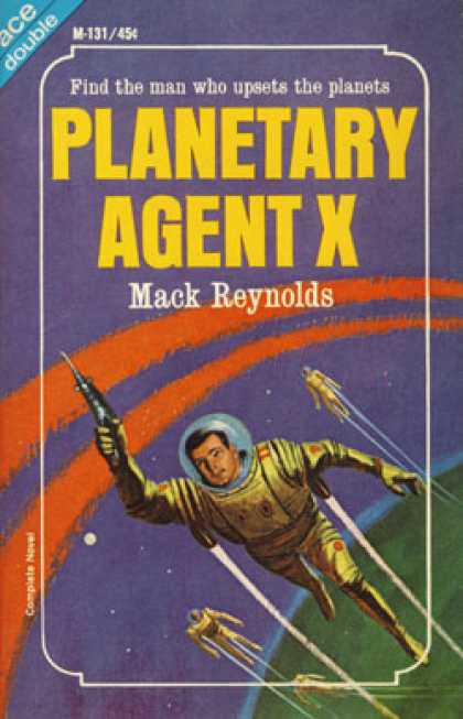 Ace Books - Behold the Stars / Planetary Agent X - Kenneth Bulmer