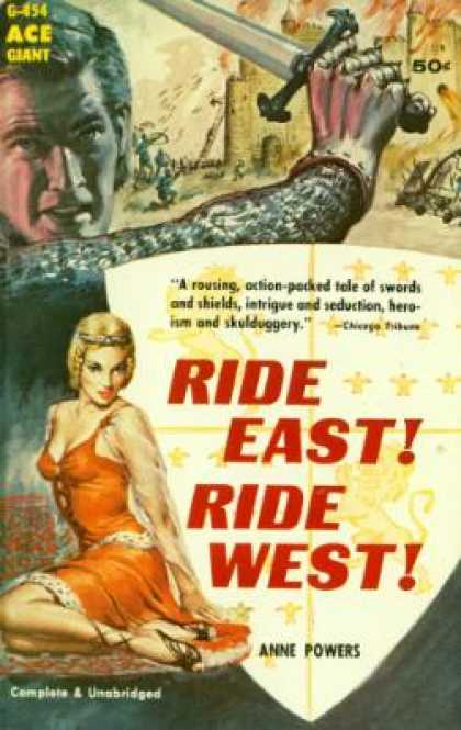 Ace Books - Ride East! Ride West! - Anne Powers