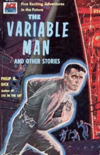 Ace Books - The Variable Man and other stories - Philip K. Dick