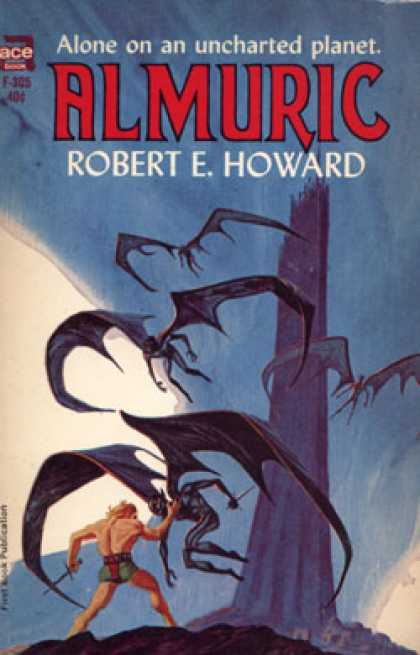 Ace Books - Almuric - Robert E Howard