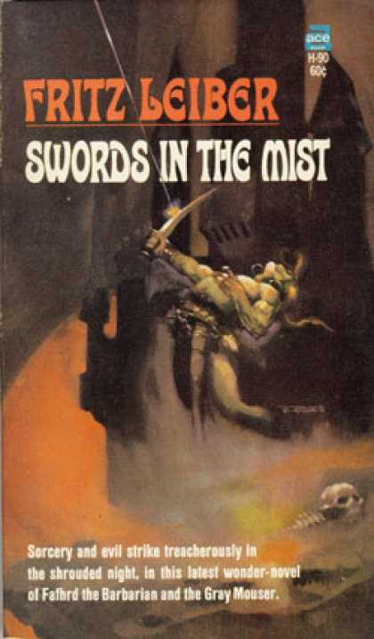 Ace Books - Swords In the Mist - Fritz Leiber