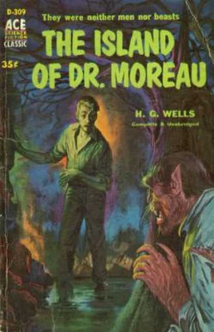 Ace Books - The Island of Dr. Moreau