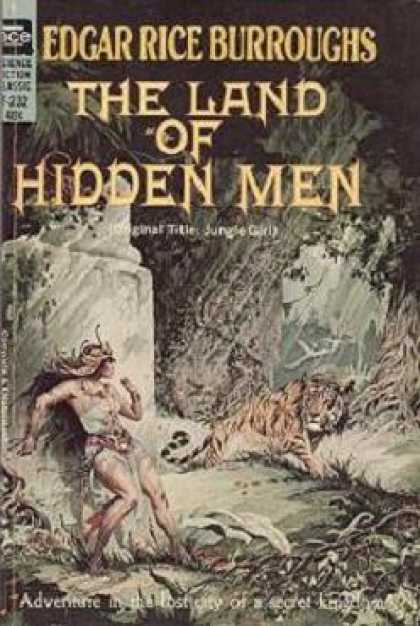 Ace Books - The Land of Hidden Men (ace Science Fiction Classic F-232) - Edgar Rice Burrough