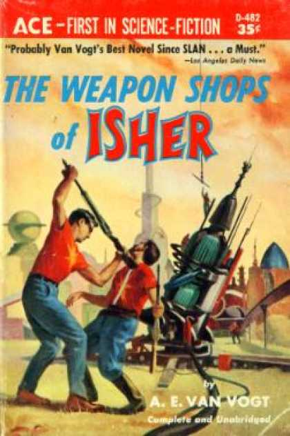 Ace Books - The Weapon Shops of Isher - A.e.van Vogt