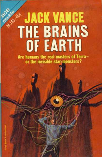 Ace Books - Brain of Earth/many Worlds of Magnus Ridolph - Jack Vance
