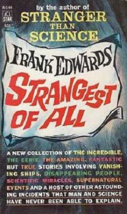 Ace Books - Strangest of All - Frank Edwards