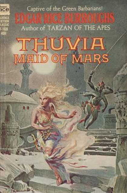 Ace Books - Thuvia, Maid of Mars (ace Sf Classics, F-168)