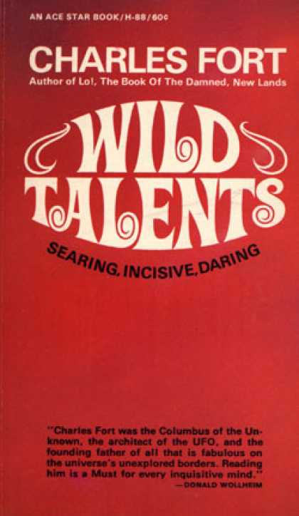 Ace Books - Wild Talents - Charles Fort