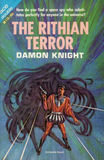 Ace Books - Off Center and the Rithian Terror - Damon Knight