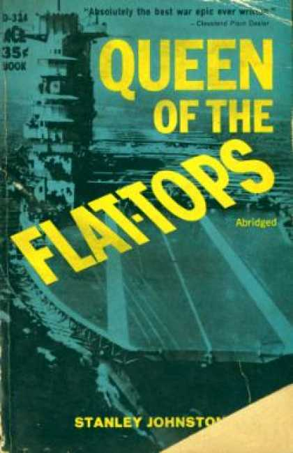 Ace Books - Queen of the Flat Tops : The Story of the Lexington - Stanley Johnston