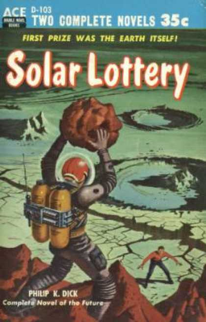 Ace Books - Solar Lottery / the Big Jump - Philip K. Dick