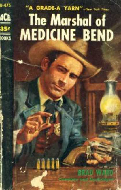 Ace Books - The marshal of Medicine Bend - Brad Ward