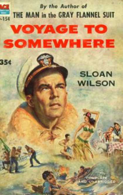 Ace Books - Voyage To Somewhere - Sloan Wilson