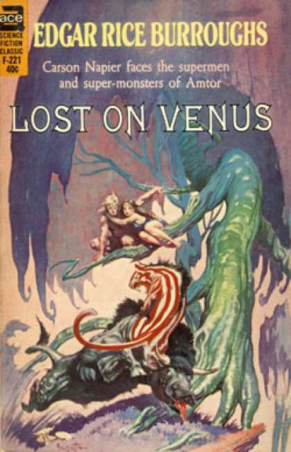 Ace Books - Lost On Venus (ace Sf Classic, 49501)