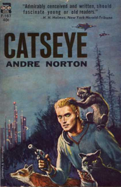 Ace Books - Catseye - Andre Norton