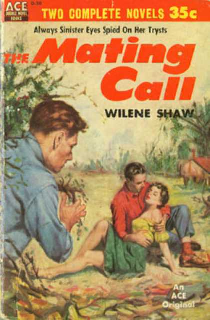 Ace Books - The Mating Call / Bad 'un - Wilene Shaw