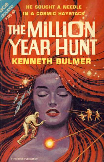 Ace Books - The Million Year Hunt; Ships To the Stars - Kenneth; Leiber, Fritz Bulmer