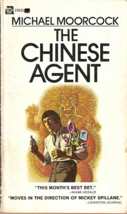Ace Books - The Chinese Agent - Michael Moorcock
