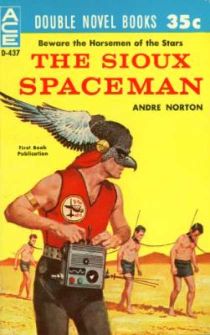 Ace Books - The Sioux Spaceman / and Then the Town Took Off