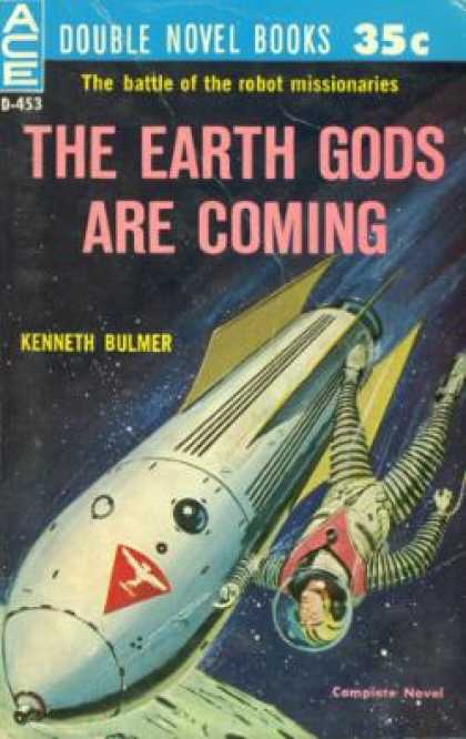 Ace Books - The Games of Neith / the Earth Gods Are Coming - Margaret St. Clair