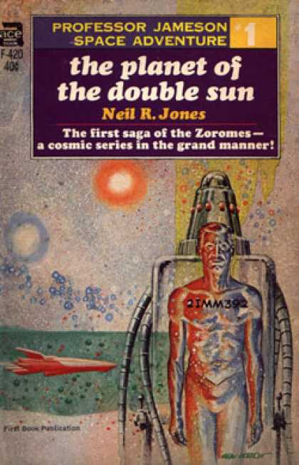 Ace Books - The Planet of the Double Sun - Neil R. Jones