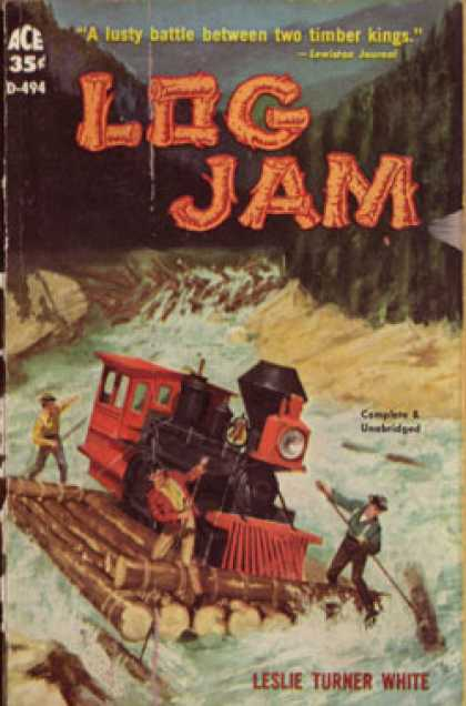 Ace Books - Log Jam - Leslie Turner White