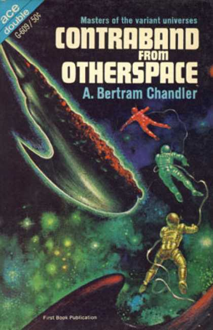 Ace Books - Contraband From Otherspace: W/ Philip E. High: Reality Forbidden - A. Bertram Ch