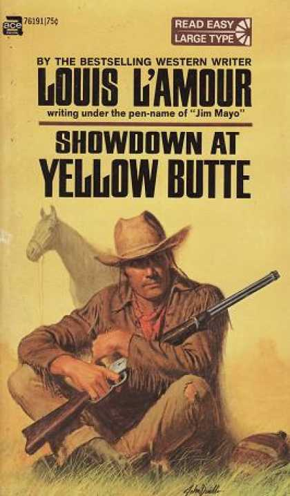 Ace Books - Showdown at Yellow Butte - Louis L'Amour