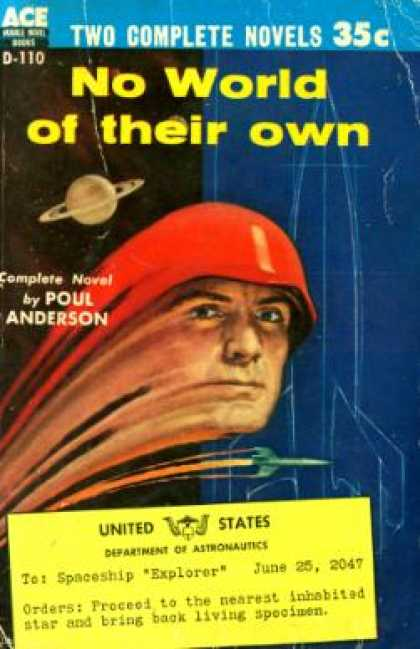 Ace Books - No World of Their Own - Poul Anderson