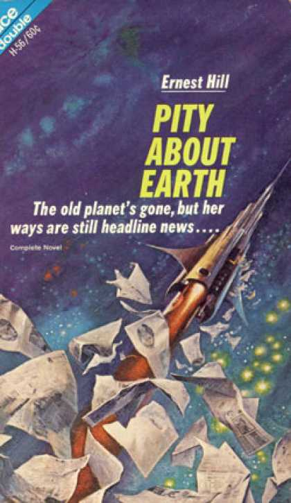Ace Books - Space Chantey and Pity About Earth