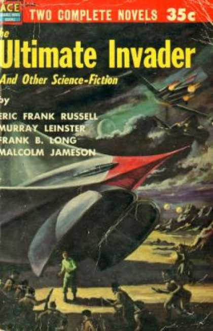 Ace Books - The Ultimate Invader and Other Science Fiction