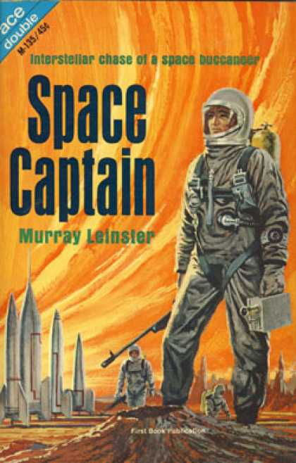 Ace Books - Space Captain / the Mad Metropolis - Murray Leinster