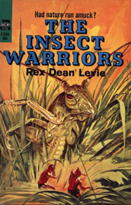 Ace Books - The Insect Warriors - Rex Dean Levis