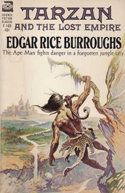 Ace Books - Tarzan and the Lost Empire - Tarzan Book Twelve (ace Sf Classic, F-169) - Edgar