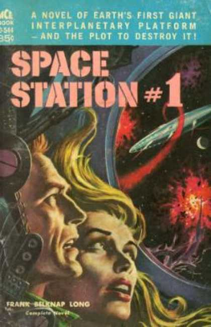 Ace Books - Space Station 1 - Frank Belknap Long