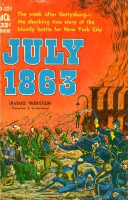Ace Books - July 1863 - Irving Werstein
