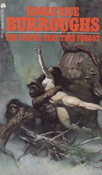 Ace Books - People Time Forgot - Edgar Rice Burroughs