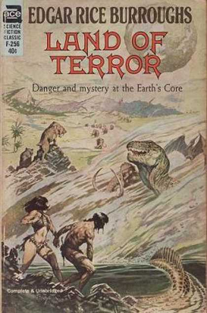 Ace Books - Land of Terror: (pellucidar, No 6) - Edgar Rice Burroughs