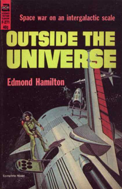 Ace Books - Outside the Universe - Edmond Hamilton