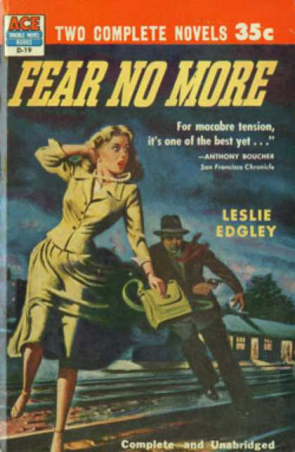 Ace Books - Never Kill a Cop! / Fear No More