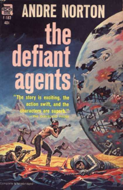 Ace Books - The Defiant Agents - Time Traders Ii
