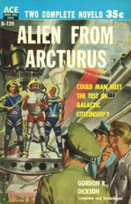Ace Books - Alien From Arcturus / Atom Curtain - Gordon R. / Williams, Nick Boddie Dickson
