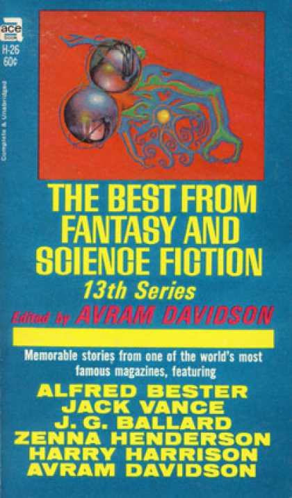 Ace Books - The Best From Fantasy and Science Fiction, 13th Series