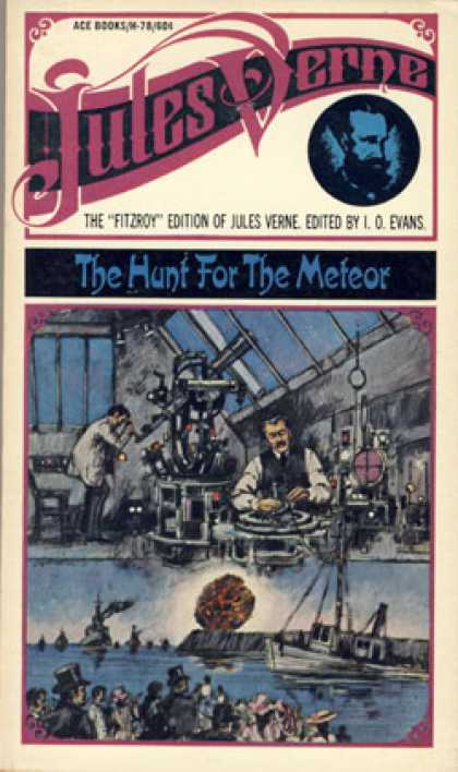 Ace Books - The hunt for the meteor - Jules Verne