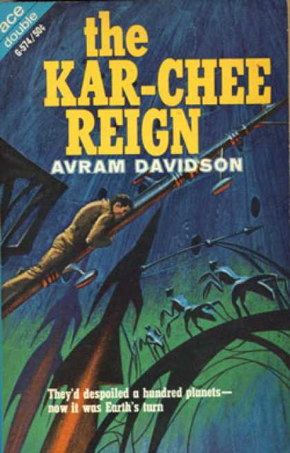 Ace Books - Rocannons World - Ursula K. Le Guin