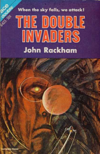 Ace Books - These Savage Futurians / the Double Invaders - Philip E. / John Rackham (john Ph