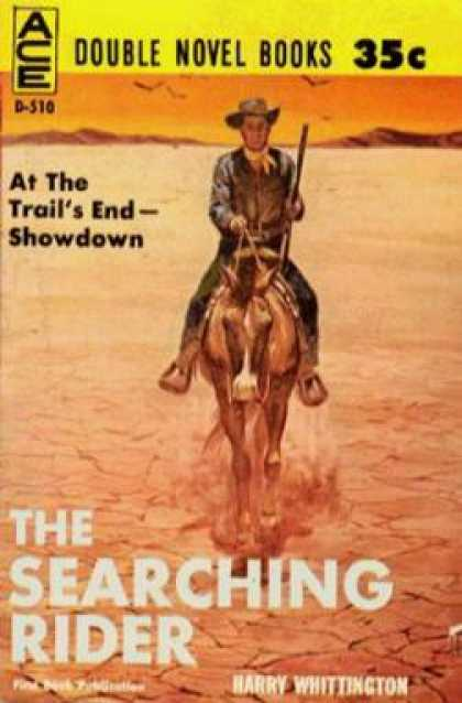 Ace Books - Searching Rider, the / Hangman's Territory - Harry; Jack M. Bickham Whittington