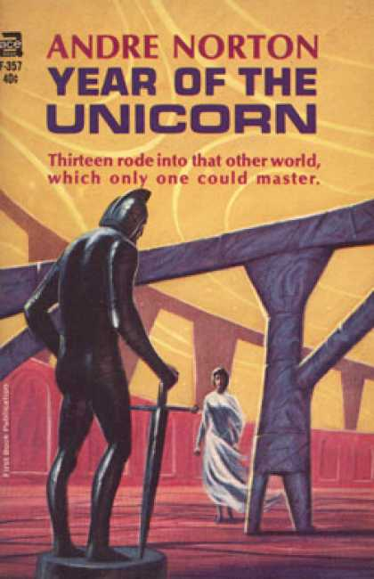 Ace Books - Year of the Unicorn - Andre Norton